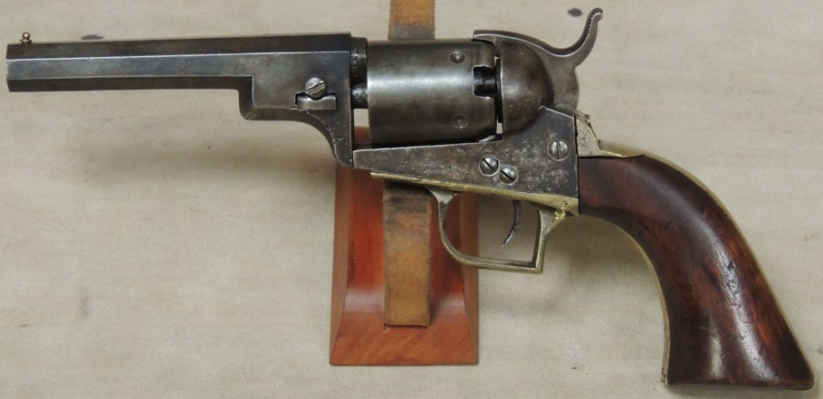 Cased Colt Baby Dragoon .31 Percussion Revolver S/N 584