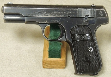 Colt Model 1903 Hammerless Pistol .32 Caliber S/N 253719