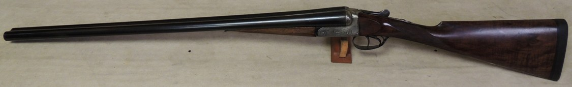 George Gibbs Antique Boxlock Shotgun 12 Bore S/N 7387