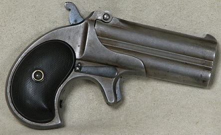 Remington Double Barrel Derringer .41 Caliber S/N 946