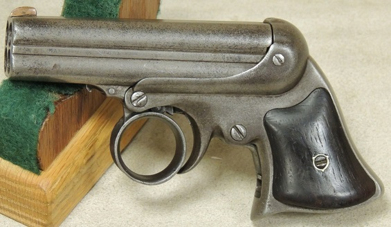 Remington-Elliot Pepperbox Deringer .32 Rimfire Caliber S/N 1787