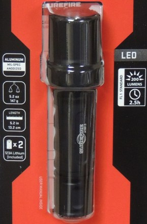 SureFire 6PX Tactical 200 Lumen LED Flashlight NIB